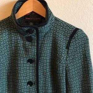 Nina Mclemore Wool/Silk Jacket